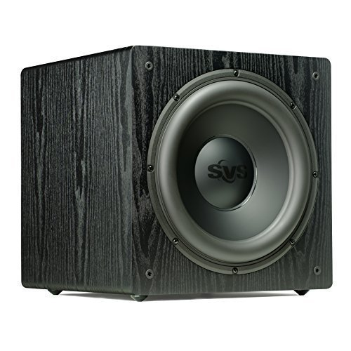 SVS SB12-NSD - 12'', 400-watt DSP Controlled, Sealed Box Subwoofer (Black Ash) by SVS