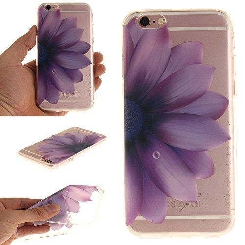 "MOONCASE iPhone 6 / 6S Hülle Case,Slim Handyhülle Schutzhülle Rutschfestem TPU Soft Backcover Bumper Case für iPhone 6S / iPhone 6 (4.7 "") TX06"