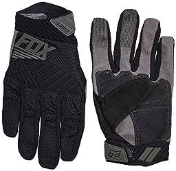 Fox Racing Digit Gloves - Men\'s Black/Grey, M