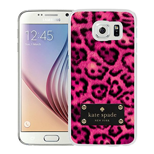 Luxurious And Nice Custom Designed Kate Spade Cover Case For Samsung Galaxy S6 White Phone Case 209