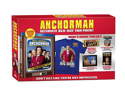 Anchorman (Ultimate Fan Pack) [Blu-ray]