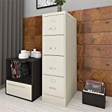 """Scranton and Co 22"""" Deep 4 Drawer Letter File"""