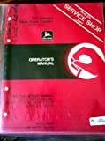 John Deere 125 Diesel Skid Steer Loader Operators Manual s/n 120001-