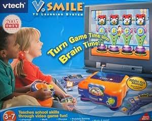 Amazon Com V Smile Tv Learning System With Alphabet Park border=