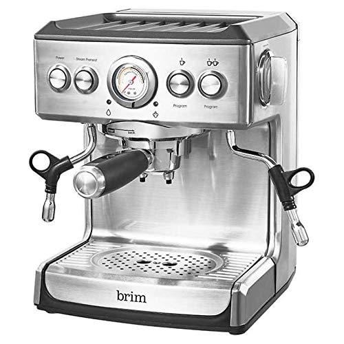 Brim 19 Bar Espresso Maker For Home Baristas, Coffee Connoisseurs & Artisans by brim