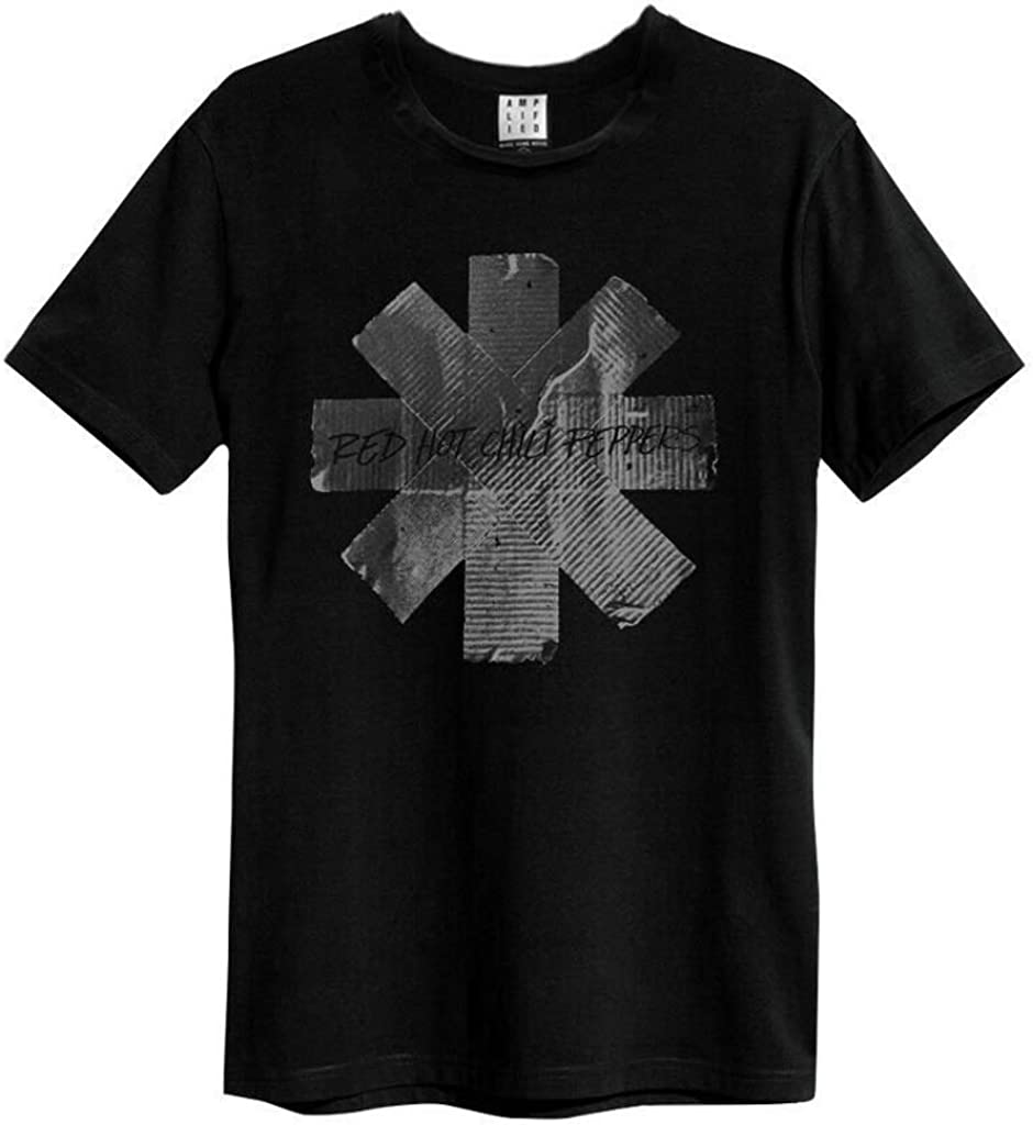 Amplified Clothing Red Hot Chili Peppers Duct Tape T-Shirt