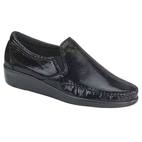 Slip Snake Shoe SAS Women's Dream On Black q78fExO