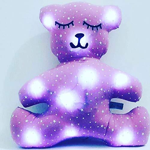 veilleuse décoration chambre enfant, forme ourson, en parme ...