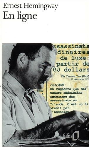 Ernest Hemingway - En ligne sur Bookys