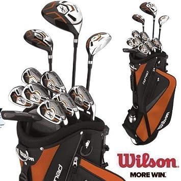 Wilson X31 MOI - Conjunto de golf (palos con varilla de ...