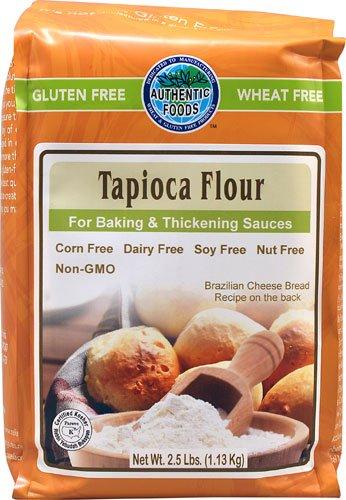 Authentic Foods Tapioca Flour - 2.5 lbs - 2 pc