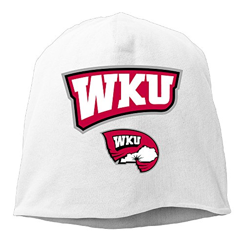 YUVIA Western Kentucky Hilltoppers Football Men's&Women's Patch Beanie LeisureWhite Caps For Autumn And Winter (Nike England Supporters)