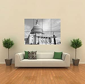 Washington Dc Nation's Capital New Giant Poster Wall Art Print Picture G382
