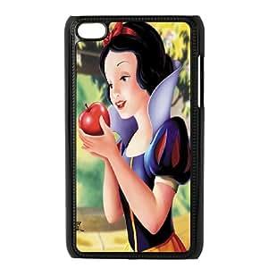 Customized White Soft Rubber(PCV) Disney Cartoon Snow White FOR Ipod Touch 5 TPUKO-Q875830