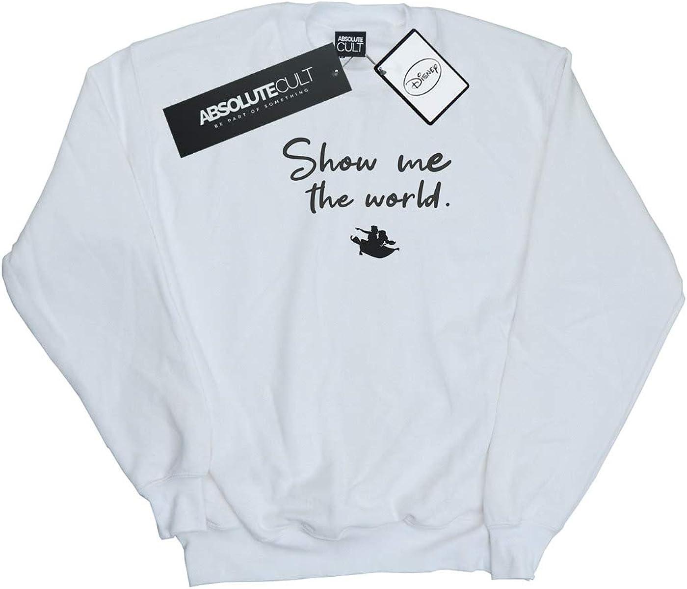 Disney Girls Aladdin Show Me The World Sweatshirt
