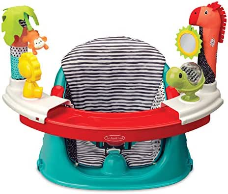 Infantino 3-in-1 Discovery Booster Seat, converts into a Booster Feeding Seat or a Baby Activity Seat