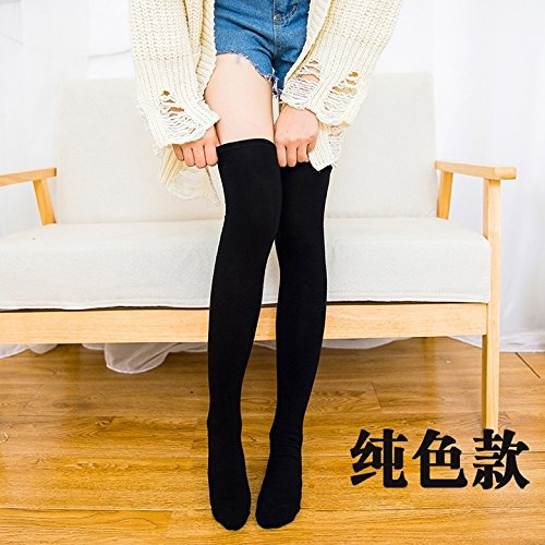 Generic Every day special Japanese socks autumn and winter half knee socks women girls lady socks thin stockings thigh socks bottoming socks sets by Generic (Image #1)