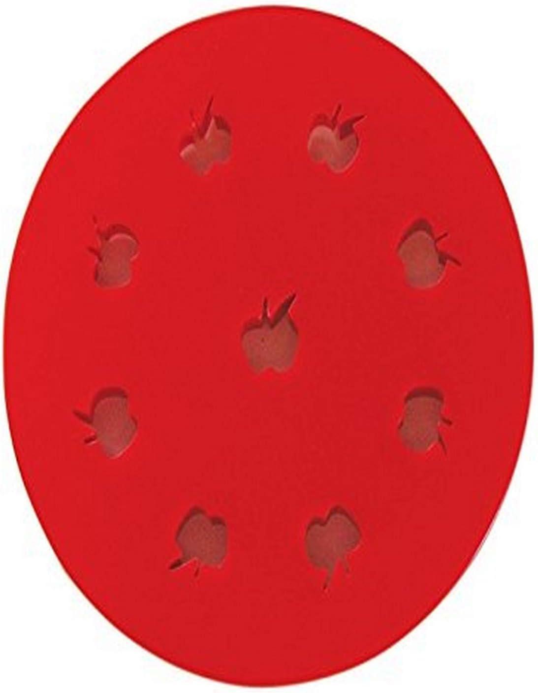 R&M International Mini Pie Topper Cutter, Apple, 5