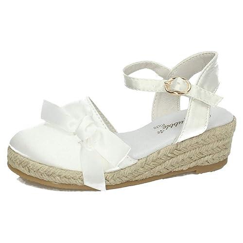 BUBBLE BOBBLE A2541 ESPARDEÑA COMUNIÓN NIÑA Zapato COMUNIÓN: Amazon.es: Zapatos y complementos