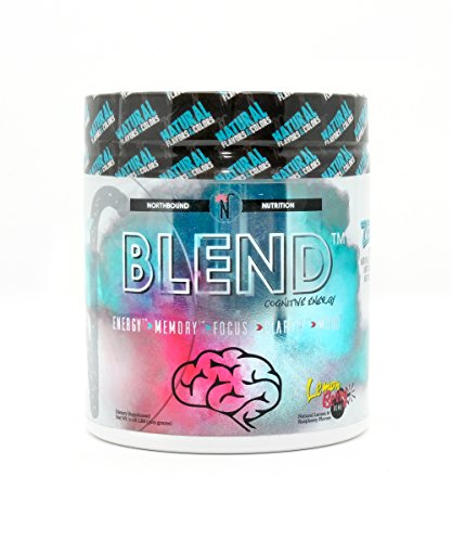 NorthBound Nutrition Blend Cognitive Energy & Endurance Formula Powder Drink – Nootropic Supplement – LemonBerry Bomb Flavor