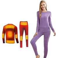 Magnifier Ropa Interior climatizada eléctrica Camisa Caliente calienta Bragas los Hombres Las Mujeres Camisa Deporte…