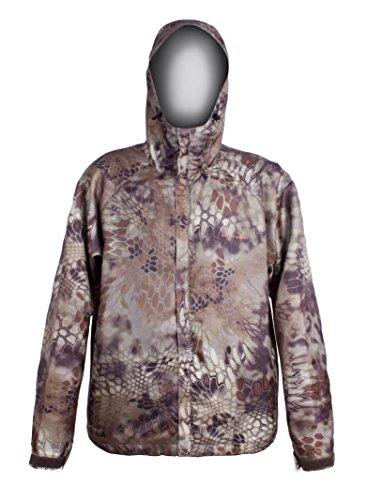 Foul Weather Raincoat (Grundens Gage Weather Watch Jacket - Kryptek Highlander Camo - Small)