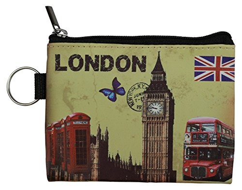 Ladies CB010 Picture icon Union Jack London Purse Bags Coin Souvenir with London 4qrn4PUSwB