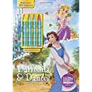 Daffodils & Dances (Color & Activity With Crayons)