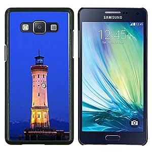 """For Samsung Galaxy A5 ( A5000 ) 2014 Version , S-type Arquitectura Retro Mar Ligthouse"""" - Arte & diseño plástico duro Fundas Cover Cubre Hard Case Cover"""