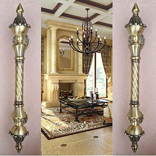 450mm vintage big gate handle Red bronze glass door handle antique brass wooden door pull 550mm Europe style door handles Retro - (Color: 550MM AC) by Kasuki (Image #1)
