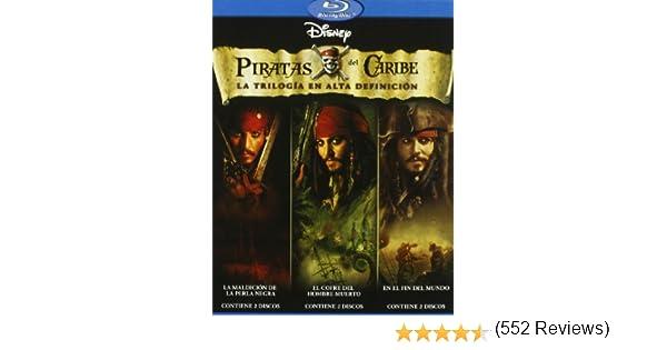Pack Piratas del Caribe - La Trilogía [Blu-ray]: Amazon.es: Johnny ...