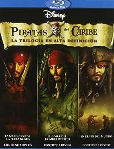 Pack Piratas del Caribe - La Trilogía [Blu-ray]
