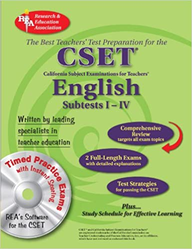 CSET (California Subject Examinations for Teachers): English