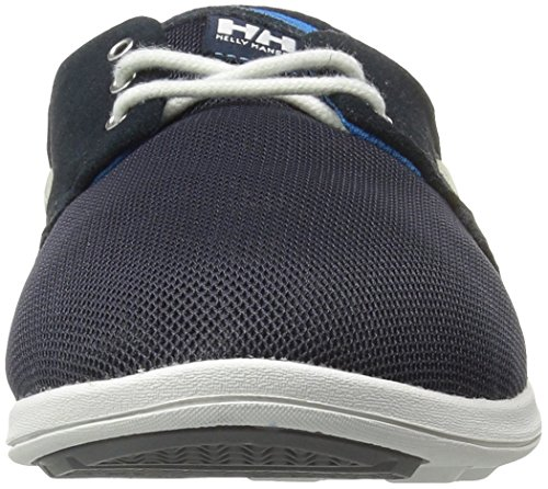 Helly Hansen Men's Lillesand Boat Shoes Blue (Navy/ Racer Blue/ Off White/ Mid Grey) LOoJvtEb