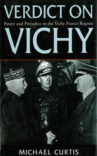 Get Verdict On Vichy Power And Prejudice In The France PDF