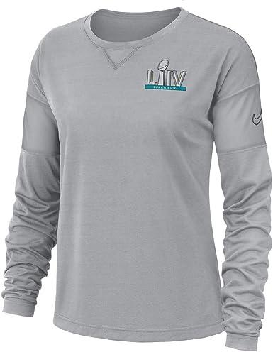 Nike LIV 54 - Camiseta de manga larga oficial para mujer, Large, gris: Amazon.es: Ropa y accesorios
