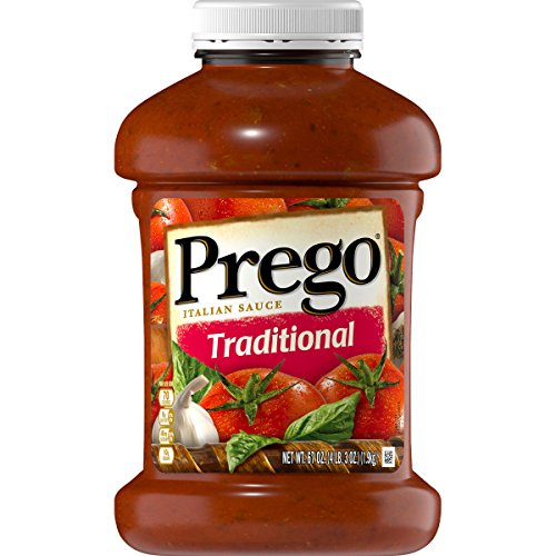 Prego Pasta Sauce, Traditional, 67 oz. Jar (Best Bolognese Sauce Jar)