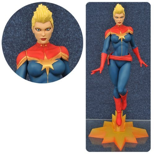 Sdcc Exclusive Statue - Marvel Gallery Captain Marvel Mohawk Version Statue - SDCC 2016 Exclusive