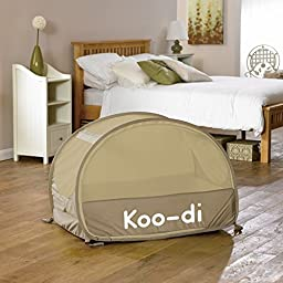 Koo-di Baby Bubble Travel Cot - Cafe Creme
