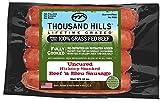 Uncured Hickory Smoked Beef 'n Bleu Sausage 3 oz (8 units @ 12 oz)