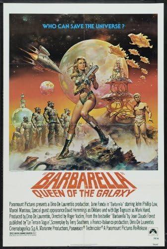 Barbarella Jane Fonda Repro Film POSTER