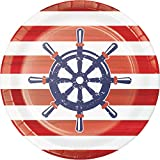 Anchors Away Dessert Plates, 24 ct