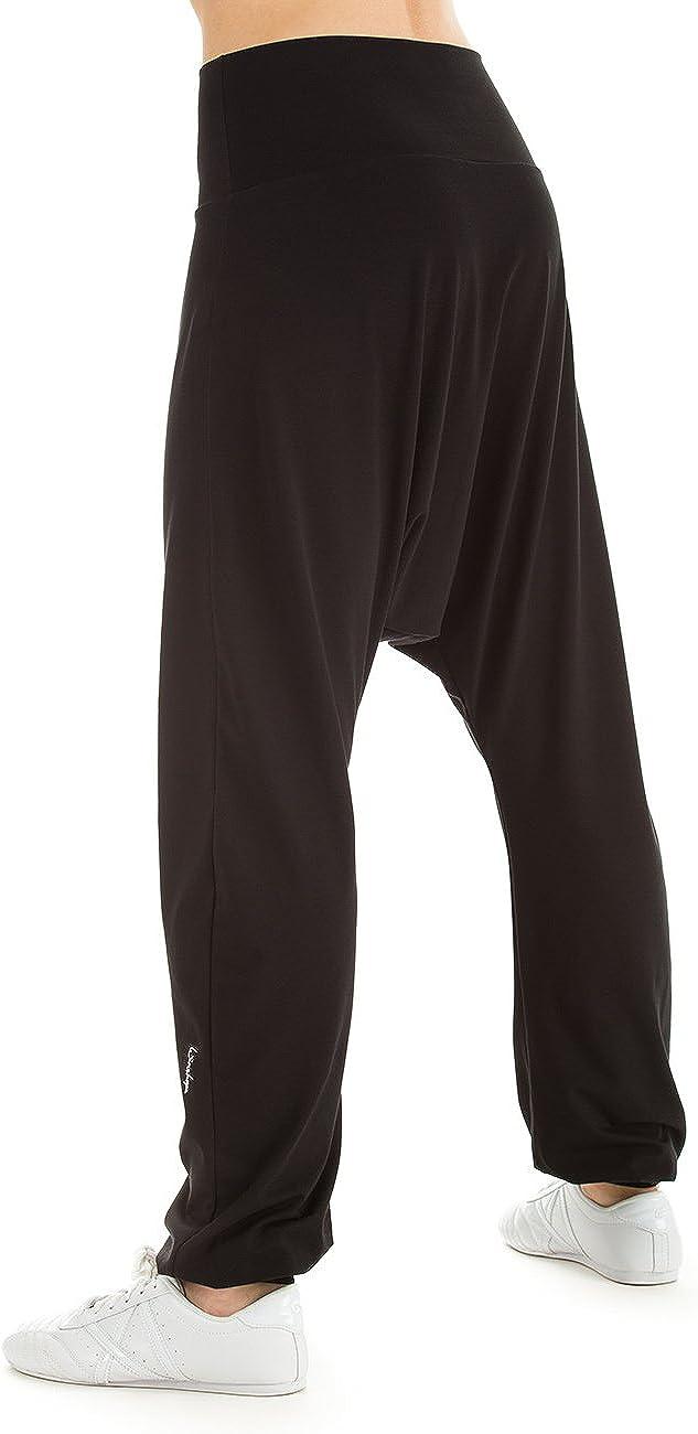 Mujer Winshape/ /Bolsa de Mujer Har/én Pantal/ón wh7/Dance Fitness Tiempo Libre Deporte Entrenamiento Pantalones tama/ño M Color Negro Todo el a/ño