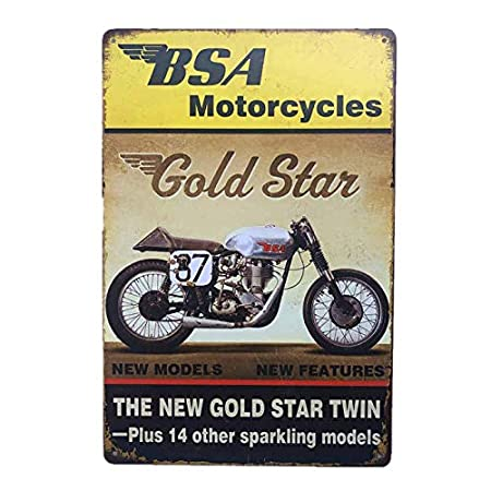 tong99 Cartel de Chapa de Metal Retro Vintage Coche ...