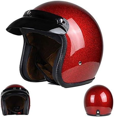 メンズ・レディースヘルメット、電動バイクハーフヘルメット、レトロバイクフードヒップホップヘルメット