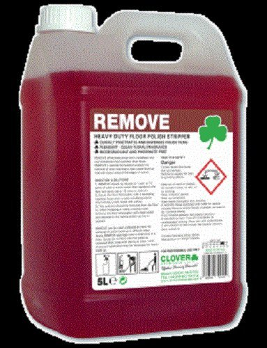 Remove Floor Polish Stripper By Clover 102 5L 7426792994885