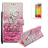 Funyye Samsung Galaxy A8 2018 Case [with Free Screen Protector],Stylish [Lanyard Strap] Magnetic Flip Soft Silicone PU Wallet Leather Case with Credit Card Holder Slots Stand Function Case for Samsung Galaxy A8 2018,Pink