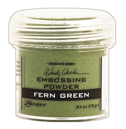 Ranger Wendy Vecchi Embossing Powders, Fern Green, ()