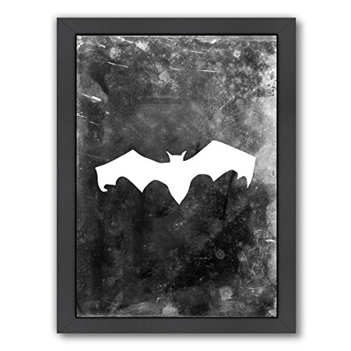 Americanflat Bat Halloween Black Frame Print by by Jetty Printables 19