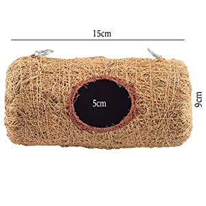 Bristo Coco Fiber Bird Nest (Cylinder Large)